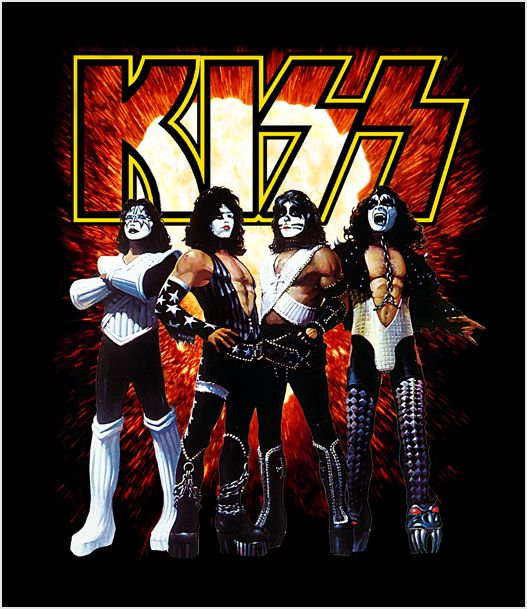One of our Kiss Skins! #Kiss #Kissband