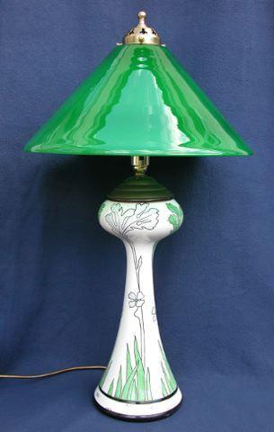 ART NOUVEAU LAMPS Solstício de inverno