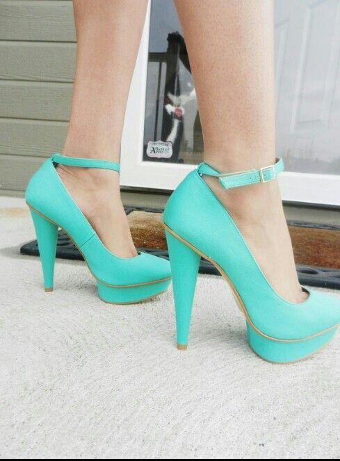 Cute aqua high heels | High heels | Pinterest | Aqua High heels