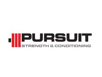 pursuit strength amp conditioning logo design winner