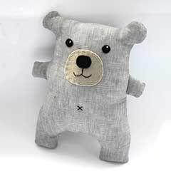 Teddy-Schnittmuster (auch als Kissen)