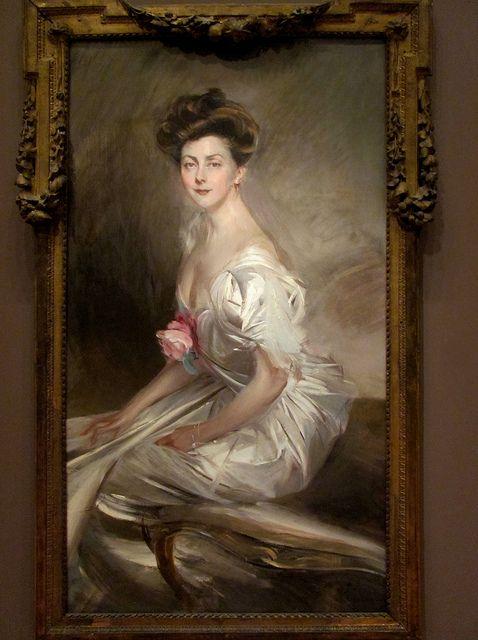 Mrs. Whitney Warren, Giovanni Boldini: