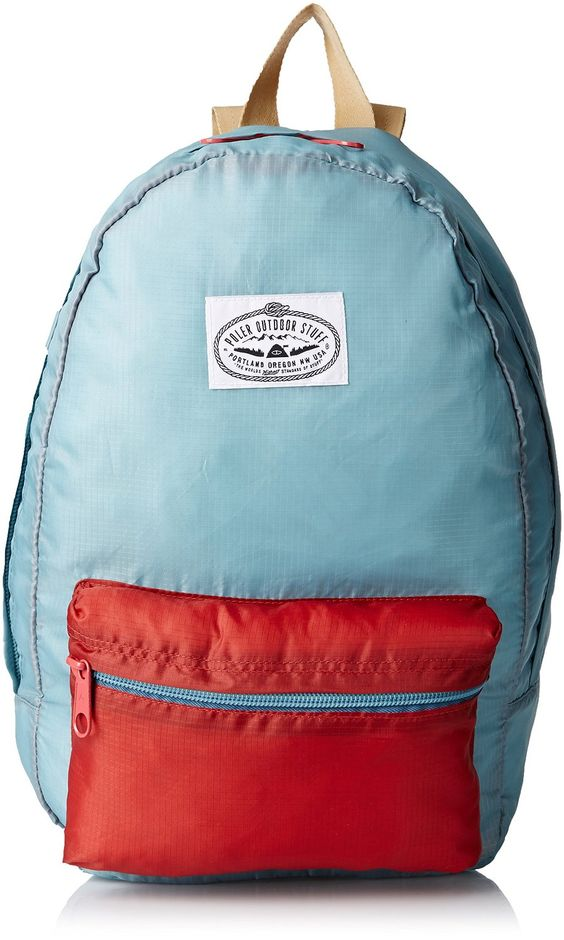 Amazon.com: Poler Men's Stuffable Backpack, Newport/Red, One Size: Clothing