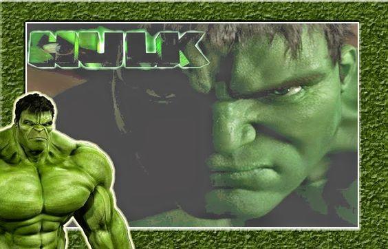 Hulk Free Printable Invitations Frames Or Cards Cositas