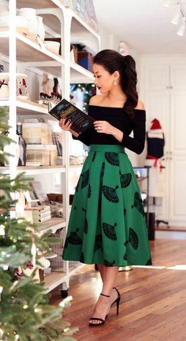 2018 look Smart Fête de Noël des Robes ou des Tenues idées