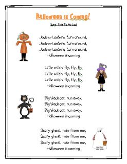 ESLaloud: Halloween 2 | ESL Poems | Pinterest | Kids poems