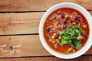 Foodie Friday:  Cowboy Up Taco Soup and Cornbread!