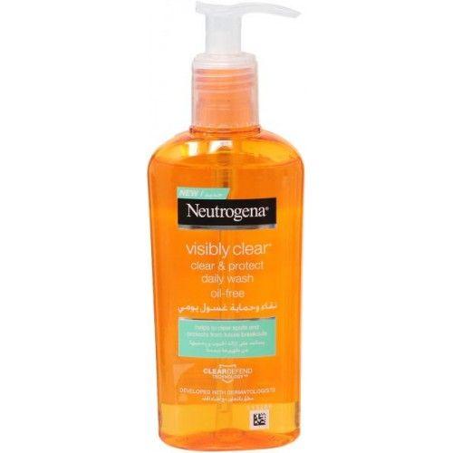 غسول نيتروجينا لحب الشباب Daily Oil Oil Free Shampoo Bottle