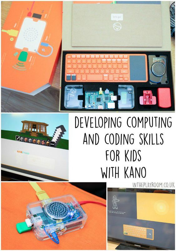 Developing computing and coding skills for kids, using Kano a really accessible raspberry pi kit for all ages