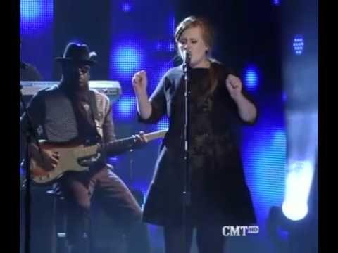 Adele and Darius Rucker singing