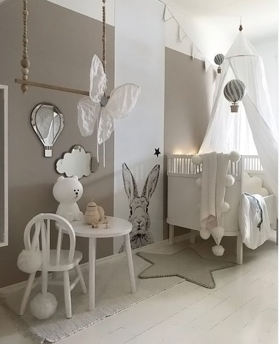 Best Nursery Ideas For Boys And Girls With Images Baby Nursery