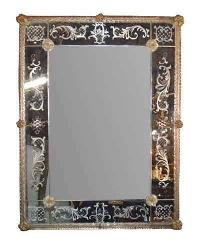 Legacy Antiques Gallery - Antique Mirrors/Antique Venetian Mirror