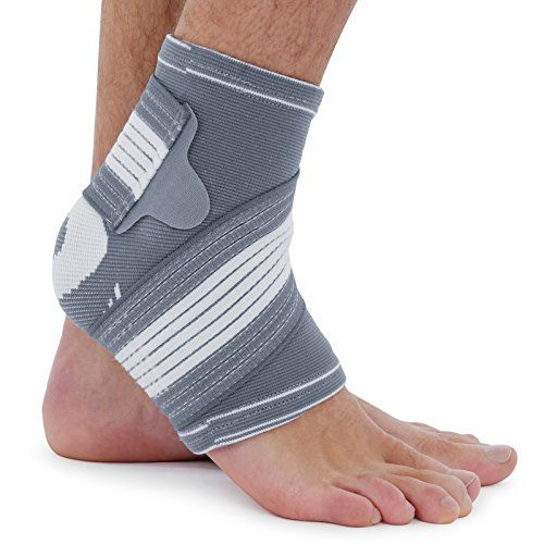 Sprains Arthritis Achilles Injuries Ankle Support Compression Foot Brace Strap