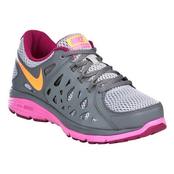 Zapatillas Nike Grises Y Amarillas