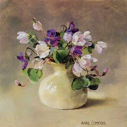 Wood Sorrel - Blank Card | Mill House Fine Art – Publishers of Anne Cotterill Flower Art