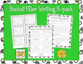 Write On, Fourth Grade!: Back to School Bucket Filling