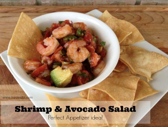 Shrimp avocado salad, Shrimp avocado and Avocado salads on Pinterest