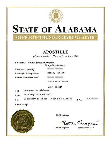 Apostille-notary
