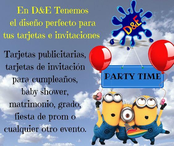 Realizamos tarjetas publicitarias e invitaciones para cualquierr tipo de evento. #design #diseño #tarjetas #de #cumpleaños #babyshower #prom #grado #matrimonio #eventos #diseño #páginasweb #logos #drawing #expression #original #videospublicitarios
