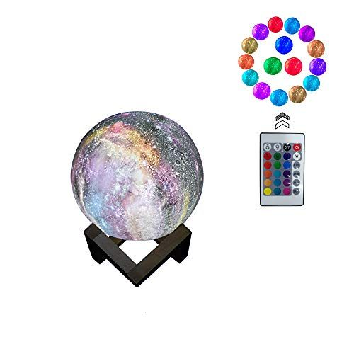 3d Moon Lamp Light Night Light 16 Colors 3d Galaxy Led L Https Www Amazon Com Dp B07h5gr5fc Ref Cm Sw R Pi Dp U X Moon Light Lamp Night Light Room Decor