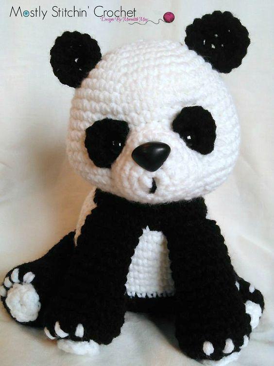 Ravelry: Panda Bear pattern by Meredith May