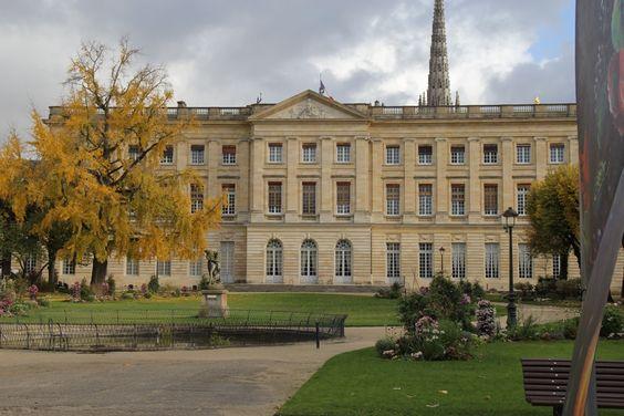 Дворец в Бордо