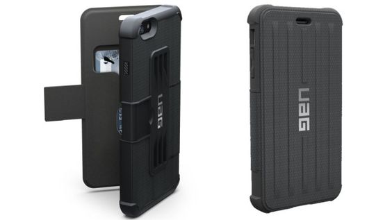 Urban Armor Gear (UAG) Tough Rugged Protective Folio Case Cover - Apple iPhone 6