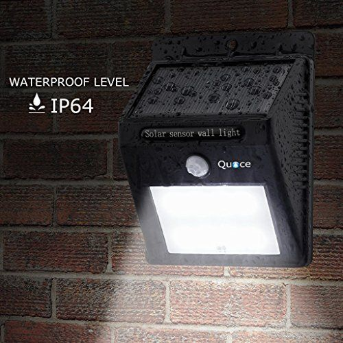 Quace Weather Resistant 12 Led Motion Sensor Solar Light Special Promotion Price Motion Sensor Lights Motion Sensor Lights Outdoor Led Outdoor Wall Lights