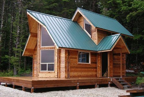 The Ultimate Roof And Rafter Guide For Cabins Tiny Homes Cheap Tiny House Tiny House Kits Tiny Cabins