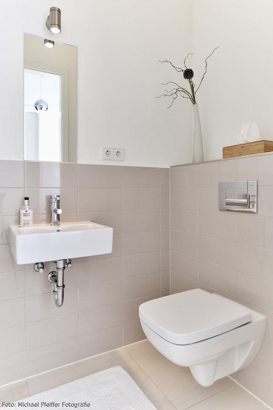kleines Gäste -WC | Inspiration, Strände und Modern
