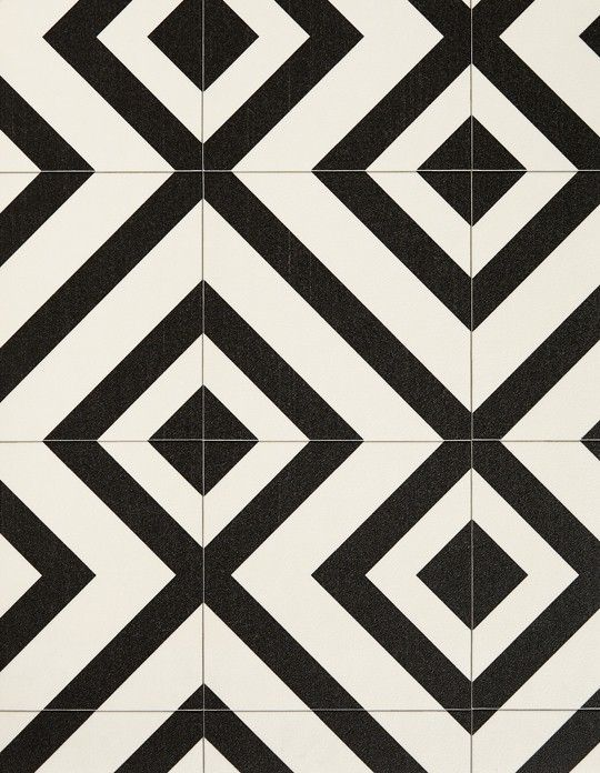 Sol Vinyle Bubblegum Carreau Ciment Motif Geometrique Noir Rouleau 2 M Saint Maclou Floors Make A World Of A Difference In The Texturas Mosaicos Patrones