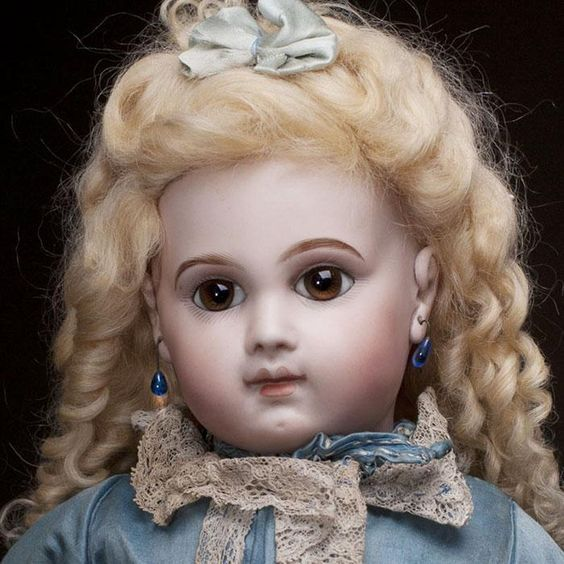 "20"" Very Beautiful Antique French Early Bisque Bebe E.J. Doll by Emile from respectfulbear on Ruby Lane"