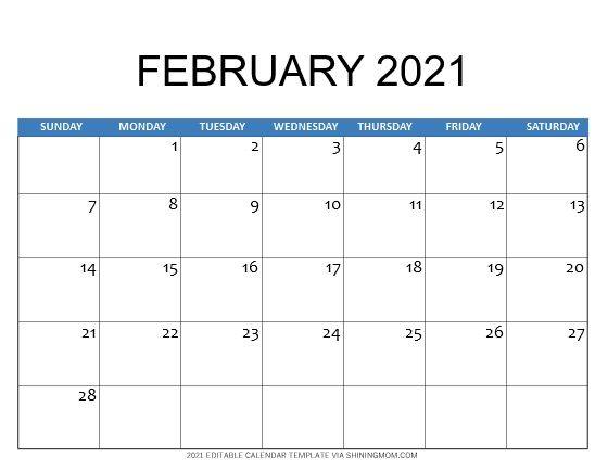 2021 Calendar Template For Instant Download Calendar Template 2021 Calendar Template 2021 Calendar
