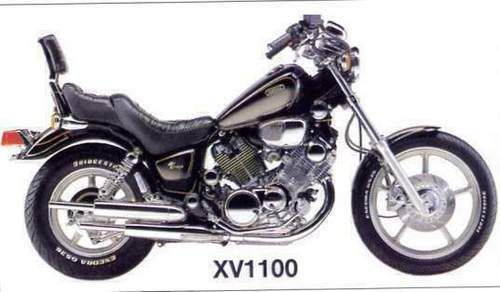 Yamaha Xv1100 Virago Full Service Repair Manual 1986 1999 Repair Manuals Bike Drawing Yamaha