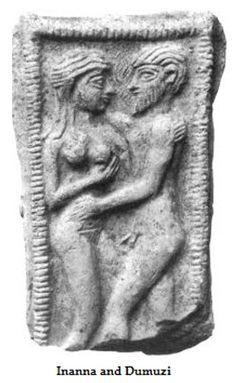 In het oude Mesopotamië schudde seks onder de goden hemel en aarde