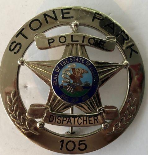 Stone Park Police >> Dispatcher Stone Park Police Il Symbol Arts Collector
