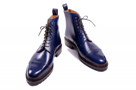 Meermin Mallorca Blue Boot Men S Shoes Pinterest Boots Boots And