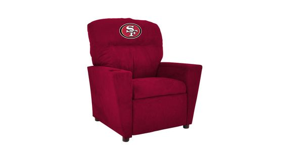 The Kids NFL Recliner is perfect chair for your little fan and their team's colors.