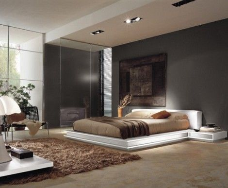 luxury bedrooms designs | Luxury Bed with Modern Bedroom Decoration | Modern Furniture Design in ...