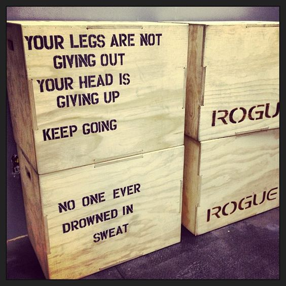 When I read this...it sounds like Joey! #crossfit #motivation #jumpbox