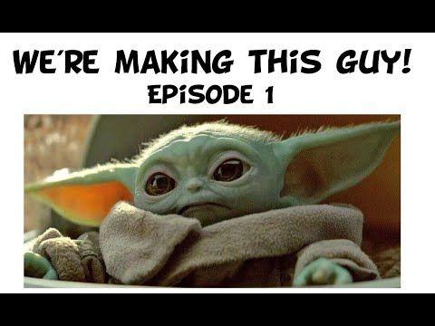 Making A Baby Yoda Episode 1 Youtube In 2020 Yoda Meme Memes Yoda