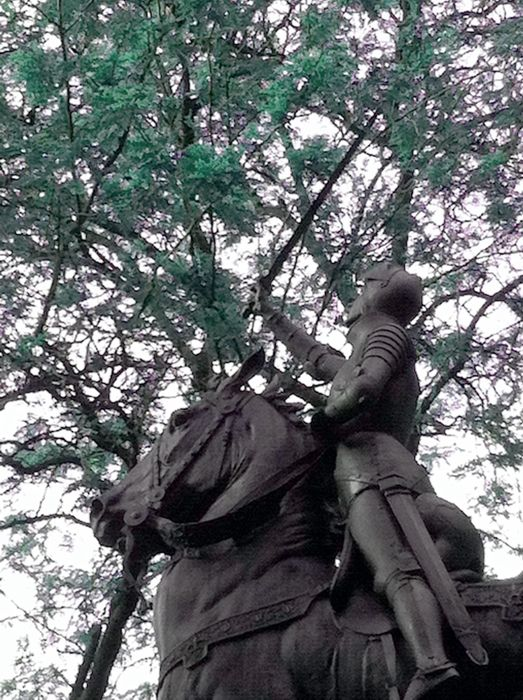 Joan of Arc - Riverside Drive and 93rd Street