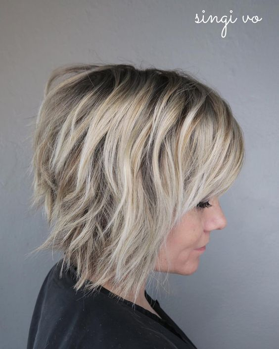 32++ Short shaggy hairstyles for thick hair inspirations