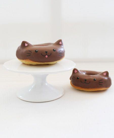 Katzen Donuts Cat Schokolade