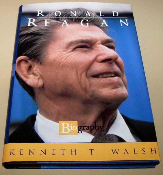 16) Ronald Reagan, Biography Book NEW! 1997