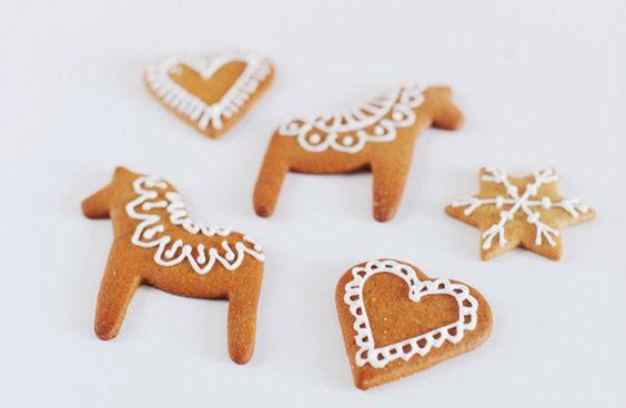 Preciosos dulces típicos de Navidad europeos