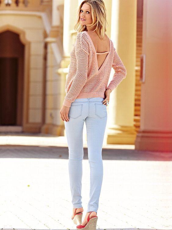 Victoria's Secret Models In Skinny Jeans - Fashion Diva Design ...