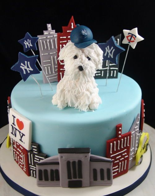 Birthday Cake For Dog Lover With Images Dog Birthday Cake