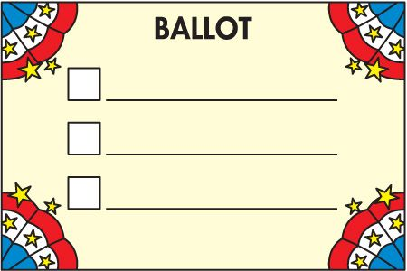 VOTING_BALLOT.jpg (450×300): Elections Government, Government Presidents, American Symbols, Presidents Patriotism, Patriotism America, America American, Voting Ballot Jpg 450, Science Social Studies