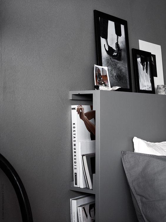 DIY sänggavel med förvaring   IKEA Livet Hemma – inspirerande ...